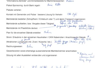 1998 Ämtli-Liste des OK Weihnachtmarkts