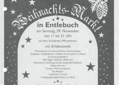 2003 Ganzseitiges Inserat im Ämme Express vom 29.11.2004