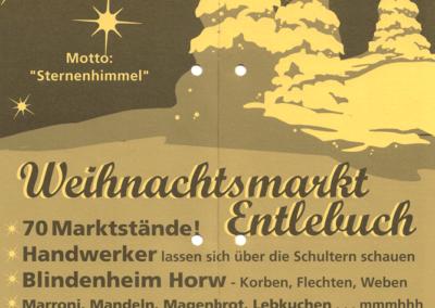 2006 Plakat 12. Weihnachtsmarkt Entlebuch
